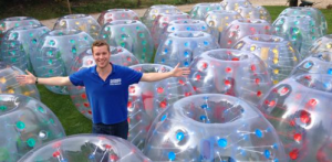 Zorbing (could be some new fetish)